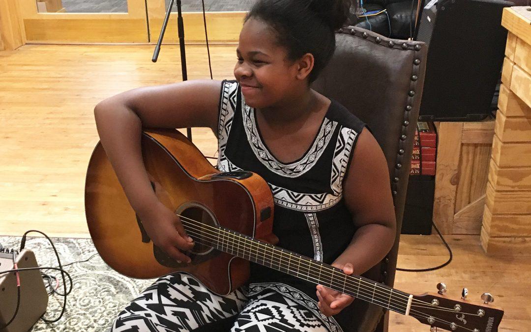 2018 Christian Salcedo Music Scholarship Recipient
