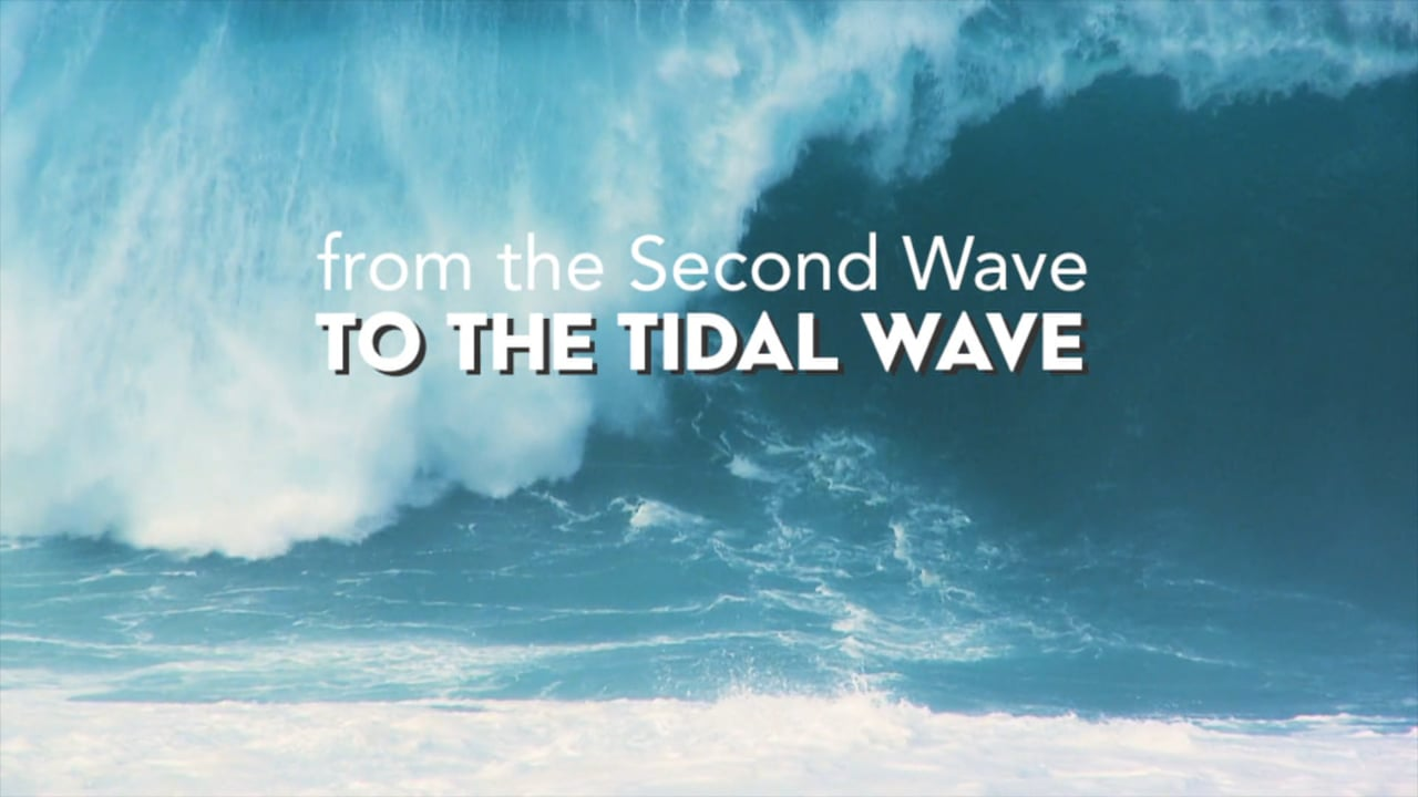 foto The second wave